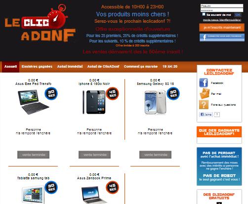 7ème site d'enchères au centime pour l'agence web BreizhMasters