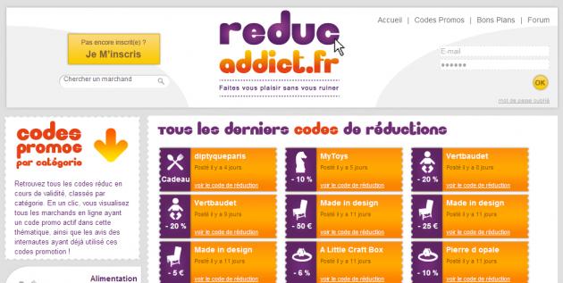 Création d'un site de codes promo