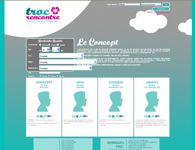 Création d'un site de rencontres différents