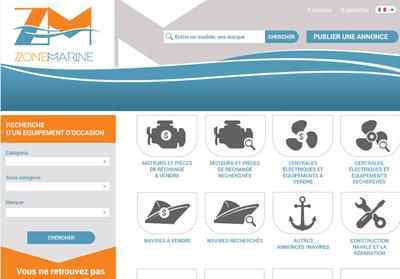 Création d'un site d'annonces dédié au monde maritime