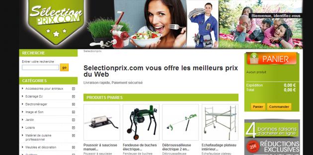 Rédaction de contenus web pour un site e-commerce