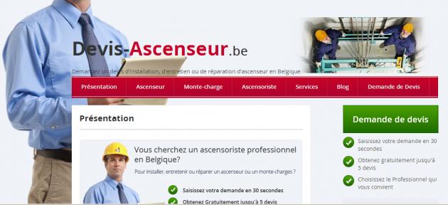 Rédaction web pour un site de devis en ligne en Belgique