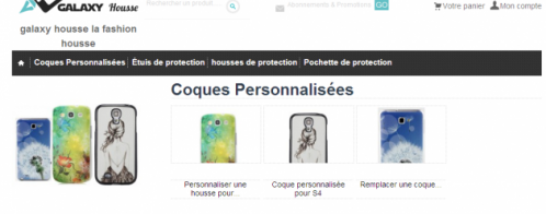 Audit d'un site e-commerce de protections pour mobile Samsung
