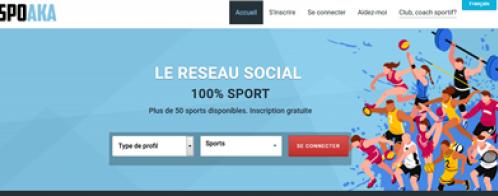 Création d'un réseau social pour la mise en relation de sportifs