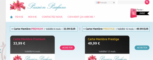 Audit d'un site e-commerce de vente de parfums