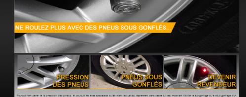 Création d'un site vitrine dans l'environnement du pneu et de la sécurité routière
