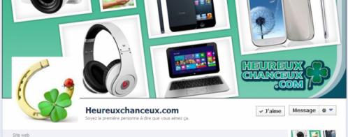 Personnaliser une page Facebook pour un site d'enchères au centime