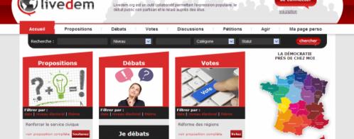 Création d'un site de démocratie participative et populaire