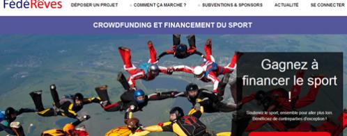 Création d'un site de financement participatif