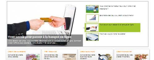 Créer un site internet de type comparateur de crédits