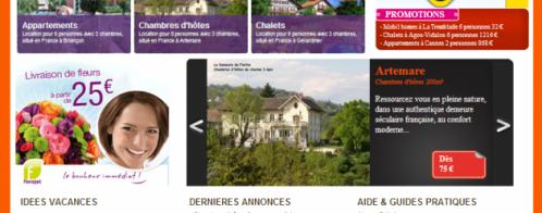 Création d'un site de locations saisonnières multilingue
