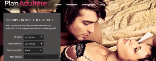 Rédaction web pour un site de rencontres adultères