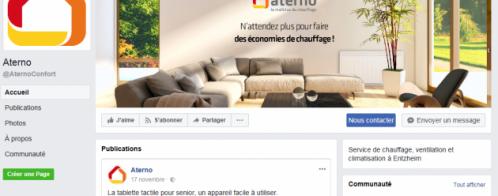 Audits pour le community management Facebook d'une société alsacienne