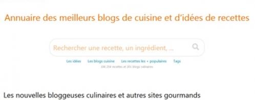 Audit SEO pour un annuaire de blogs de recettes de cuisine