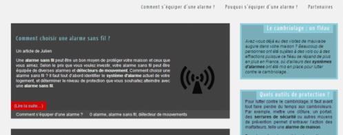 Intervention dans le code d'un site piraté