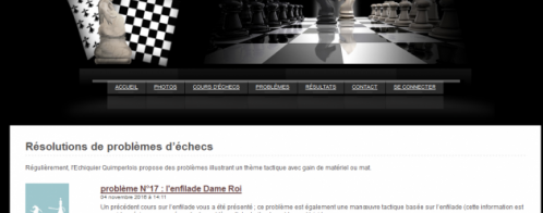 Community management pour un site d'échecs