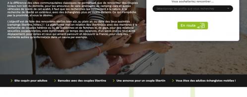Création d'un site de rencontres pour adultes spécialisé sur une niche